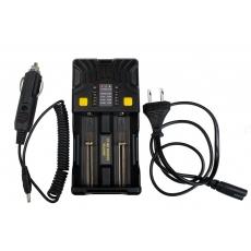 Nabíječka Armytek Universal Charger Uni C2 pro  IMR, Li-Ion 4.2V, Li-Ion 4.35V, Ni-MH,