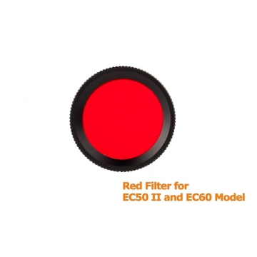 Červený filtr FR30 pro Acebeam EC50/EC50GENII/EC60/L16