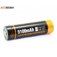 Acebeam 21700 Li-Ion 5100mAh 20A Dobíjecí, chráněné baterie