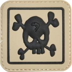 Nášivka na suchý zip Viper Tactical Skull / 5x5cm