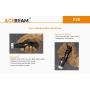 Svítilna Acebeam T36 USB / 6500K / 2000lm (1.5m+2.5h) / 303m / 6 režimů / IPx8 / Včetně Li-Ion 21700 / 113gr