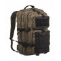 Batoh MilTec Ranger US Assault L / 36L / 51x29x28cm Green Black