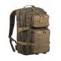 Batoh MilTec Ranger US Assault L / 36L / 51x29x28cm Green Coyote