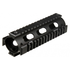 Předpažbí UTG PRO M4/AR15 Carbine Length Drop-in Quad Rail (MTU001)