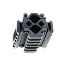 Montáž na hlaveň 13-20mm MNT-BR005 UTG Universal 3-rail / 5 Slotů