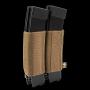 Elastická sumka na zásobníky SMG na suchý zip Viper Tactical VX Double SMG Mag Sleeve Dark Coyote