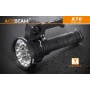 Svítilna Acebeam X70  / Studená bílá / 60000lm (55sec+50min) / 1115m / 6 režimů / IPx8 / Včetně Li-Ion / 1819gr