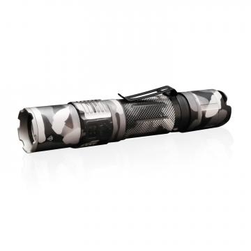 Svítilna Klarus XT2CR Camo USB / Studená bíelá / 1600lm (1.2h) / 240m / 6 režimů / IPx8 / včetně 18650 Li-Ion / 88gr