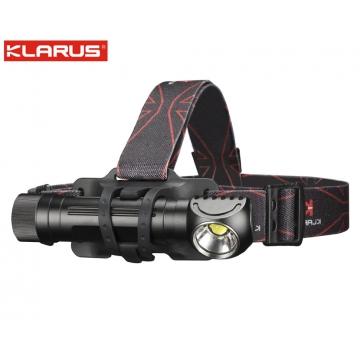 Čelovka Klarus HA2C Magnet USB / Studená bílá / 3200lm / 141m / 5 režimů / IPx8 / Včetně Li-ion 18650 / 61gr