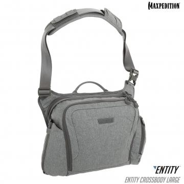 Brašna Maxpedition Entity Crossbody Bag Large (NTTCBL) / 14L / 28x14x28 cm Ash