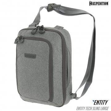 Taška přes rameno Maxpedition Entity Tech Sling Large (NTTSLTL) / 10L / 28x14x37 cm Charcoal