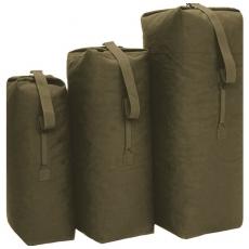 Sumka MilTec US COTTON DUFFLE BAG Medium / 85L / 105x60cm Green