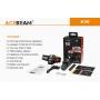 Čelovka Acebeam H30 R+CRI USB PowerBank / 5000К / 4000lm (1.5min+2.5h) / 171m / 9 režimů / IPx8 / Včetně Li-ion 21700 / 80gr