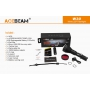 Laserová svítilna Acebeam W30 / 6500K / 500lm (1h45m) / 2408m / 1 režim / IPx8 100m / Včetně Li-Ion 21700mAh / 248gr
