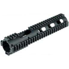 Předpažbí pro M4 Carbine Length Extended Drop-in Quad Rail UTG (MNT-HG416SE)