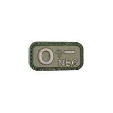 Nášivka na suchý zip 0- Green Viper Tactical / 5x2.5cm