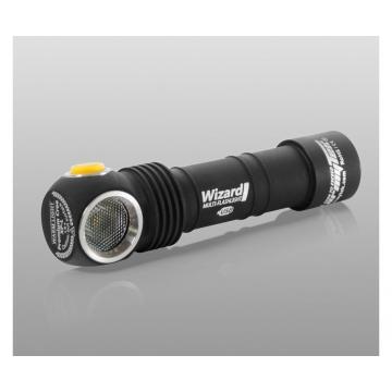 Čelovka Armytek Wizard v3 XP-L USB Magnet/ Teplá biela / 1120lm (1.5h) / 115m / 6 režimov / IP68 / Včetně 1 x Li-ion 18650 / 65gr
