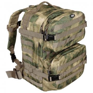 Batoh MFH US Assault II / 40L / 30x48x27cm HDT-camo FG