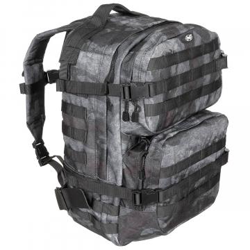 Batoh MFH US Assault II / 40L / 30x48x27cm HDT-camo LE