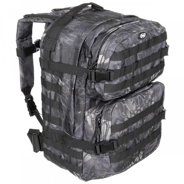 Batoh MFH US Assault II / 40L / 30x48x27cm Snake black