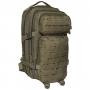 Batoh MFH US Assault I Laser / 30L / 23x44x24cm OD Green