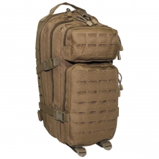 Batoh MFH US Assault I Laser / 30L / 23x44x24cm Coyote Tan