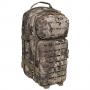 Batoh MFH US Assault I Laser / 30L / 23x44x24cm Snake FG