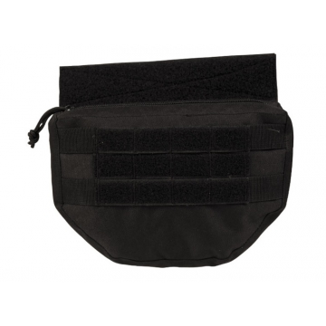 Sumka MilTec na na nosič plátů nebo vestu / 23x4,5x16cm Black