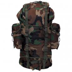 Batoh MFH BW Combat / 65L / 43x63x21cm WoodLand