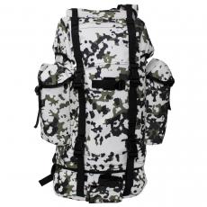 Batoh MFH BW Combat / 65L / 43x63x21cm Snow-camo