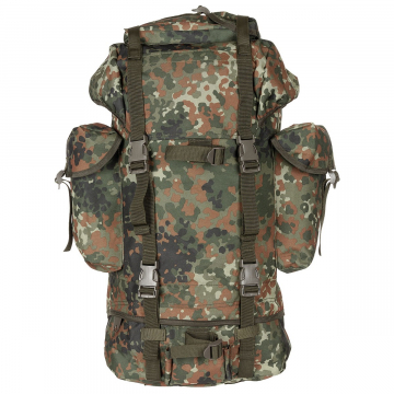 Batoh MFH BW Combat / 65L / 43x63x21cm Flektarn