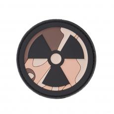 Nášivka na suchý zip 101 Inc. Nuclear desert / 68x68mm
