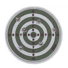 Nášivka na suchý zip 101 Inc. Target - Sand / 80mm