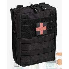 Lékárnička MilTec LEINA L (43 položky) Black